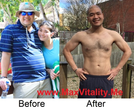 Jeremy shows what 18 months of MaxVitalty living can do